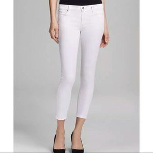 Citizens Of Humanity Avedon Skinny White Jeans